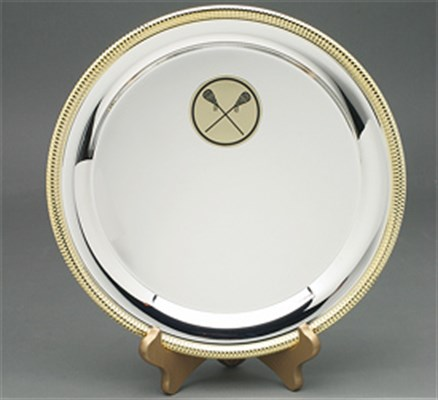 SPG - Silver Plate with Gold Trim