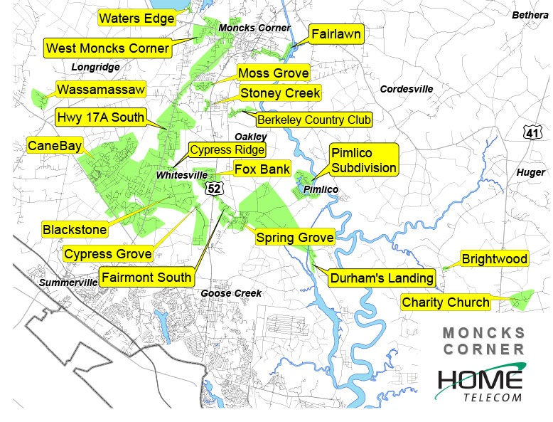 Moncks Corner - Velocity Neighborhoods