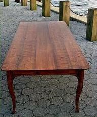 River wood Table from wood from bottom of Cape Fear