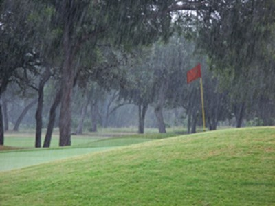 Moss Creek Rain Out!  Mother Nature has been fickle this year!