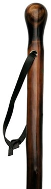 Canes Chestnut walking stick with knob