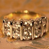 Diamond Ring available at Albert F. Rhodes Jewelers