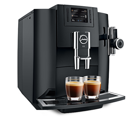 Carolina Coffee Jura E8 One-Touch Cappuccino and Latte Macchiato System