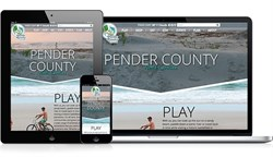 Pender County Tourism Launches a Responsive Redesign