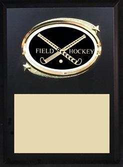 FHOV57 Crossed Stick Plaque