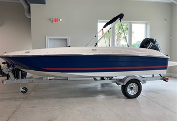 2021 Bayliner Element E18 Blue/Red/White  Boat