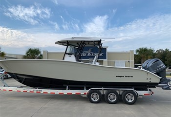 2021 Cape Horn 31T Gray/Black Boat