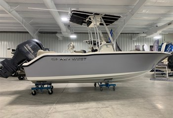 2021 Key West 203 FS Manta Gray  Boat