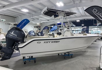 2021 Key West 203 FS White  Boat