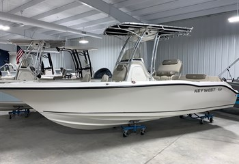 2021 Key West 219 FS White  Boat