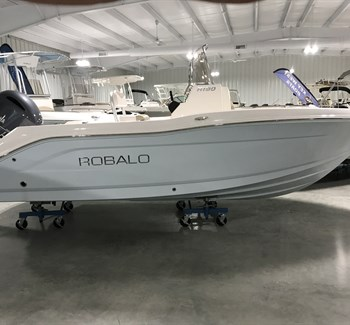 2018 Robalo R180 Ice Blue New Boat