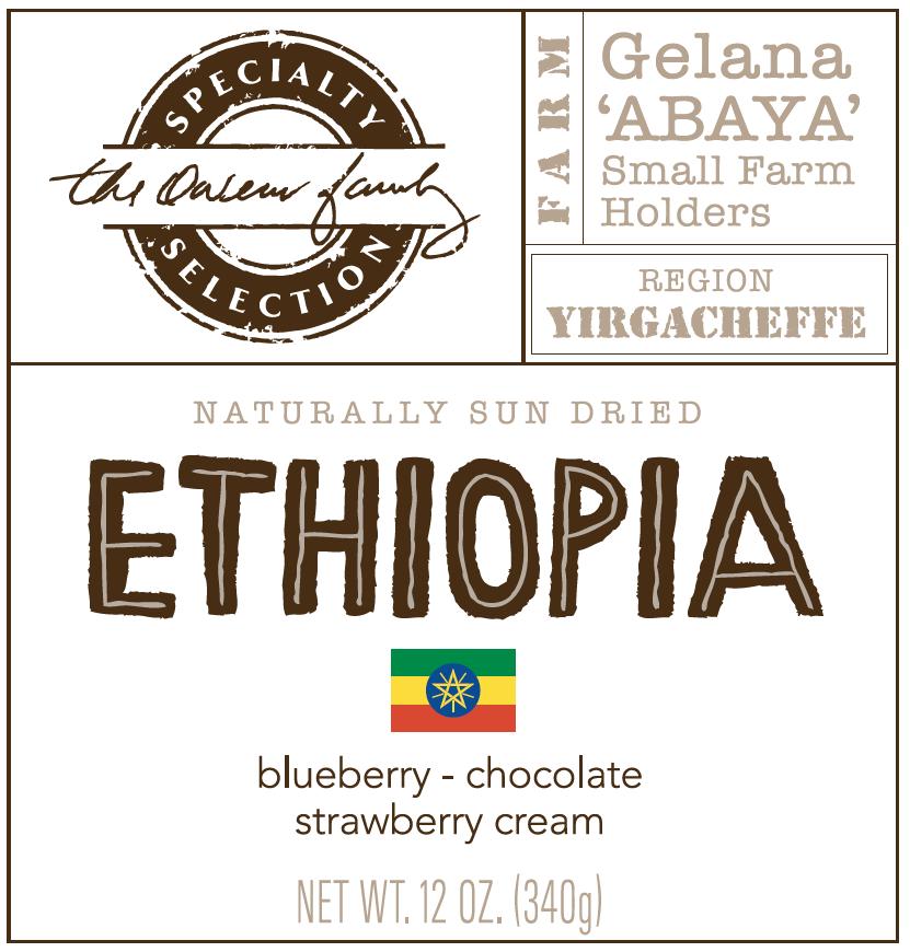 Carolina Coffee Ethiopia Gelana ABAYA