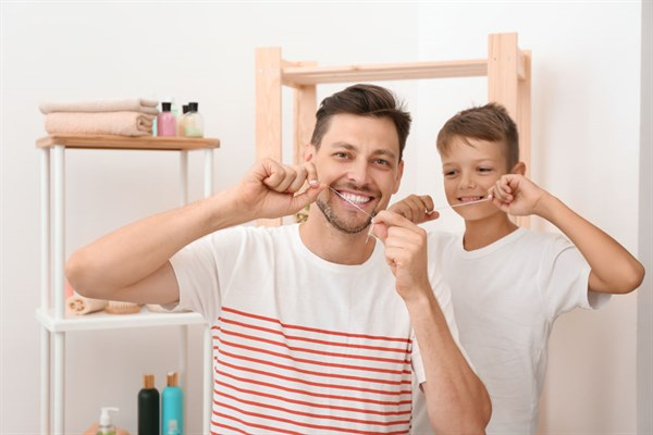 flossing dentist wilmington nc