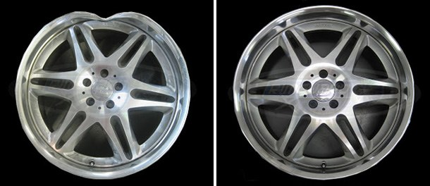 Let RGX Rim Repair, Inc restore your rim back to new with our RGX TRUE ROUND TECHNOLOGY