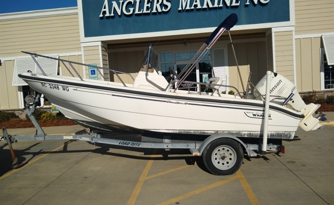1999 Boston Whaler Dauntless 16