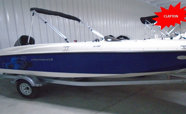 2019 Bayliner Element E18 Stock No. X2649