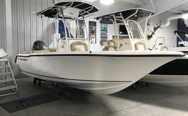 2019 Key West 203 FS White