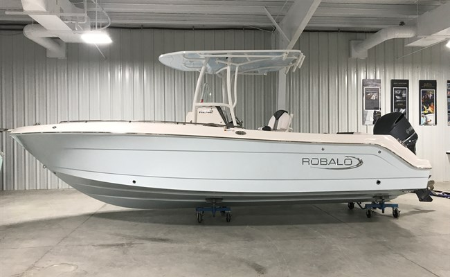 2019 Robalo R242 Explorer Ice Blue