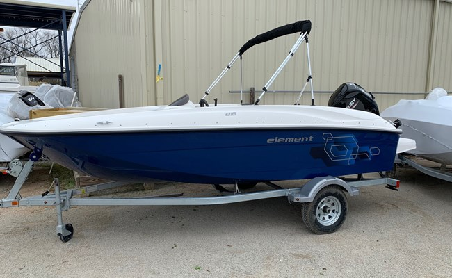 2021 Bayliner Element E16 Solid Blue