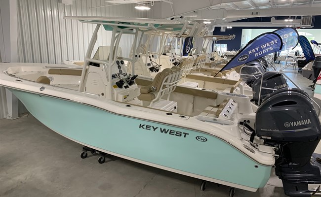 2021 Key West 244 Seafoam