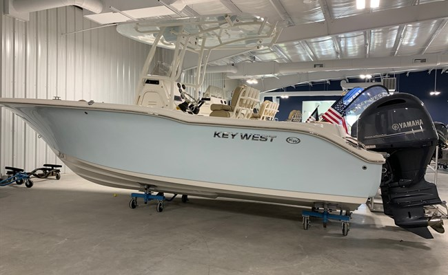 2020 Key West 244 Ice Blue