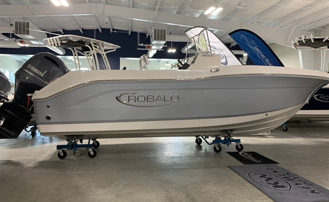 2021 Robalo R200 Alloy Gray/White