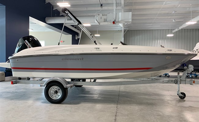 2021 Bayliner Element E18 Gray/White/Red