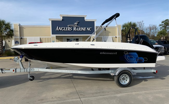 2021 Bayliner Element E18 Black/White