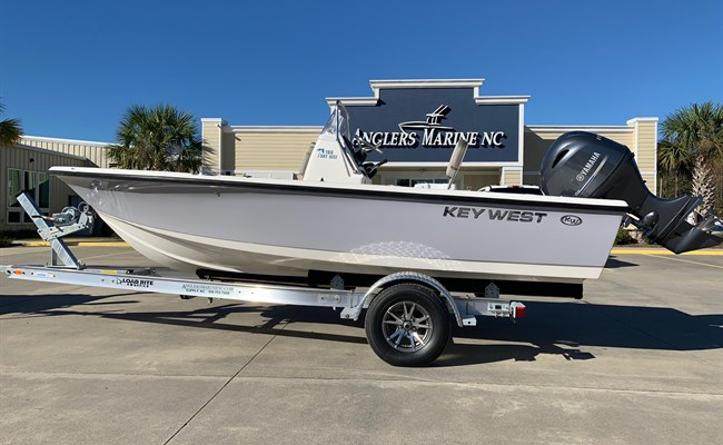 2021 Key West 188 Bay Reef Manta Gray/White (CLAYTON)
