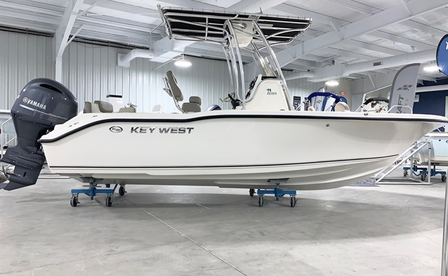 2021 Key West 219 FS White (CLAYTON)