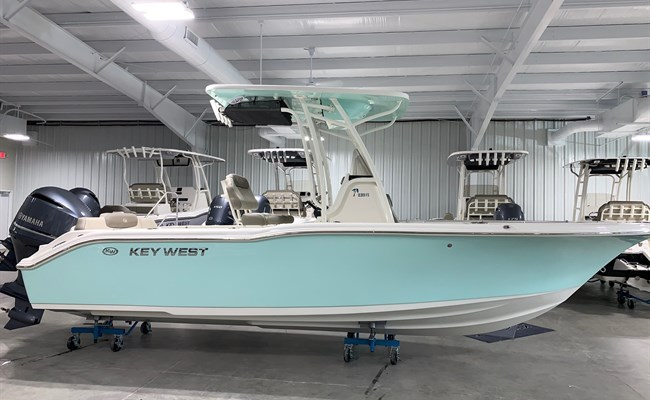 2021 Key West 239 FS Seafoam/White