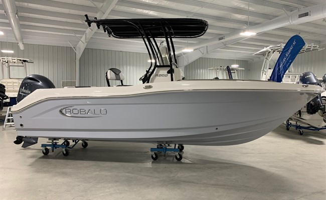 2021 Robalo R202 Explorer Alloy Gray