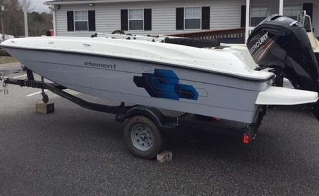 2020 Bayliner Element E18 Grey Stock No. X1227