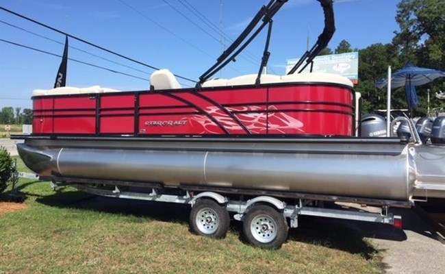 2019 Starcraft Pontoon SLS3 Red